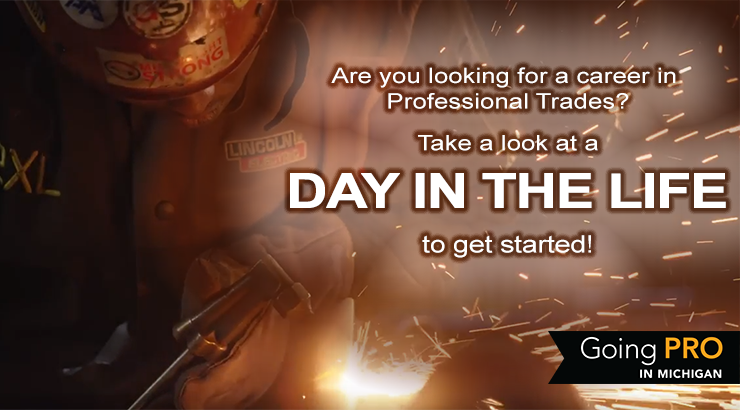 Are you looking for a career in Professional Trades? Take a look at a Day in the Life to get started!
