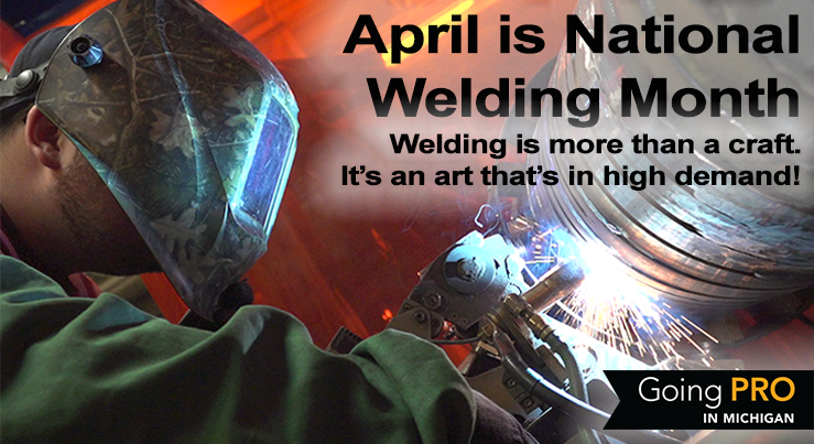 April is National Welding Month. Welding is more than a craft! Learn what welders do and earn.