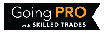 Going PRO with Skilled Trades Logo