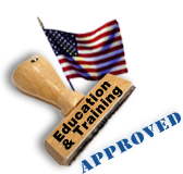 Edcuation & Training Approved Stamp